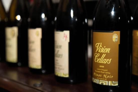 Vision Cellars Bottles