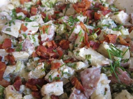 blue cheese potato salad