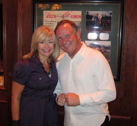 Gary and Ashlee at our first Dallas Uncorked dinner for the June Jones Foundation