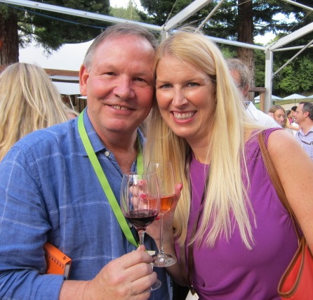 Me and Gary at Auction Napa Valley last year