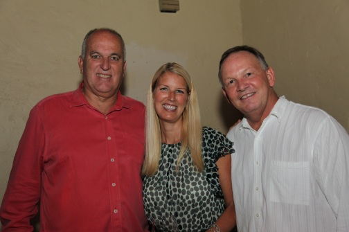 June, me and Gary at our Dallas Uncorked dinner for the June Jones Foundation in 2012