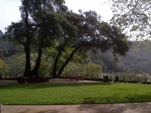 Palisades Wine Company Events Outdoor Area