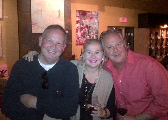 Gary with Corinne and Uncle Andrew (Ormsby)
