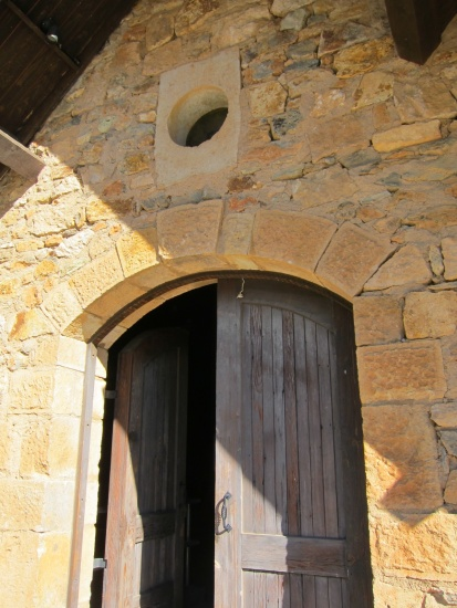 The historic Ladera stone winery built in 1888