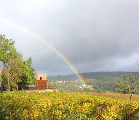 rainbow over vinho verde