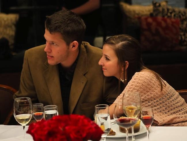 "Clayton and Ellen at ""Dinner"" in 2010"