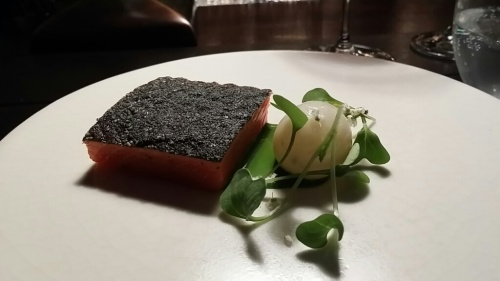Wild Salmon with Turnip