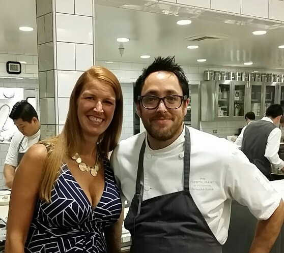 Me with Chef Christopher Kostow