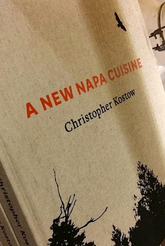 "Chef's new cook book, ""A New Napa Cuisine"""