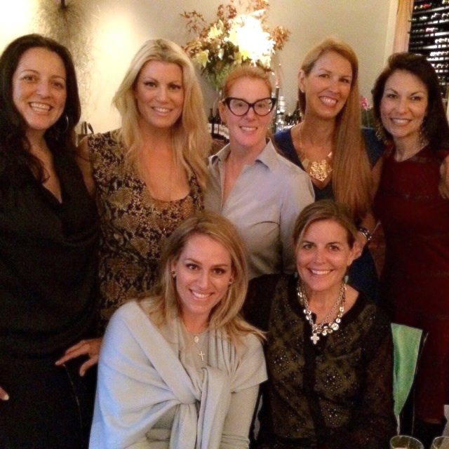 Dallas Uncorked harvest dinner picture 4 - girls