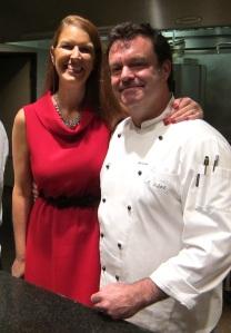 Me with Chef Abraham Salum