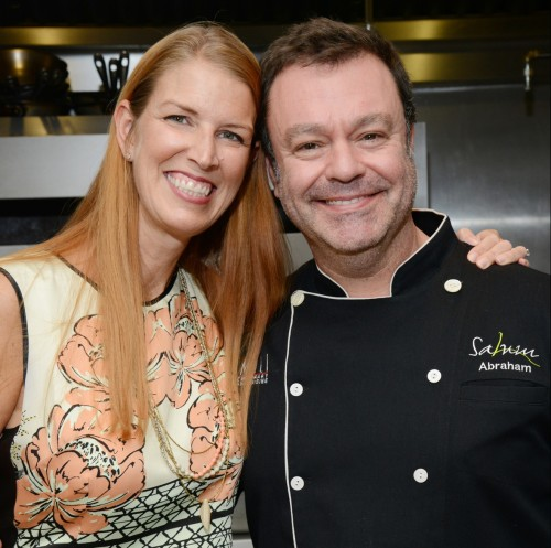 Hayley with Chef Abraham Salum