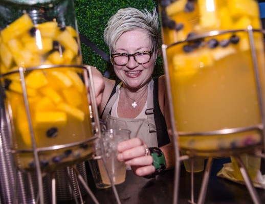 Dame Mixologist Leanne Berry from Komali